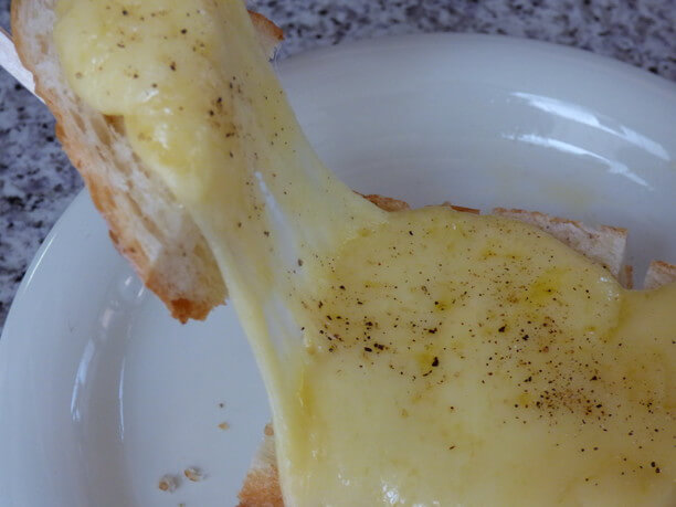 のび~るチーズ