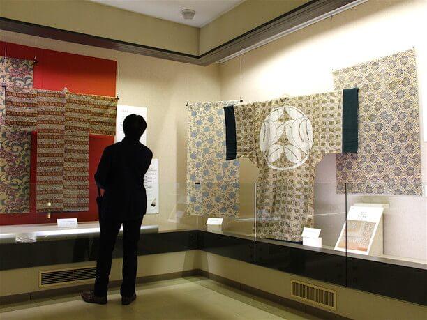和更紗の展示