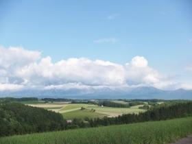 絵画のような丘からの景色
