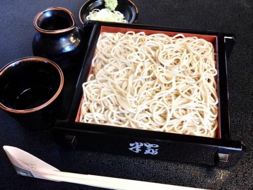 シンプルな蕎麦