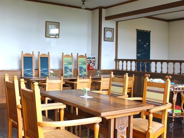館内にある喫茶室