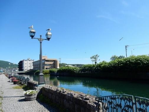 観光のメイン通り・北運河