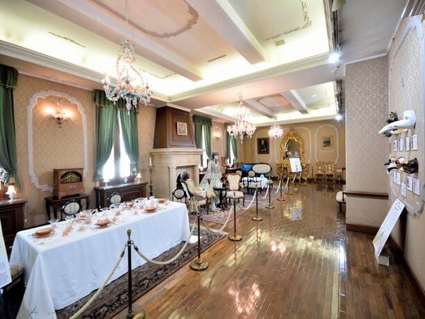 王宮を再現した部屋