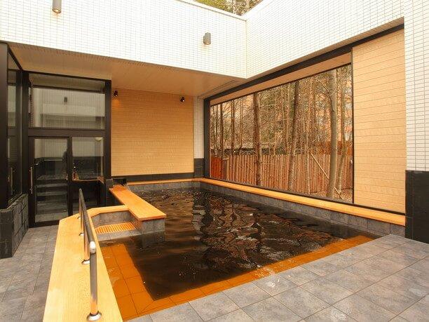 開放感のあるお風呂