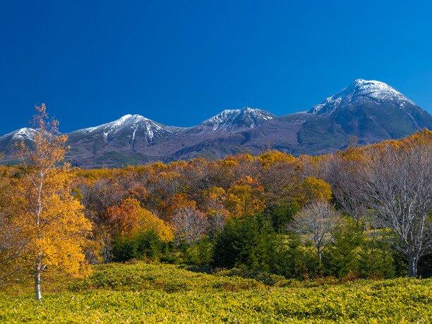 知床火山群の山々