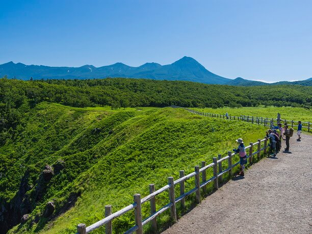 チカポイ岬の展望台