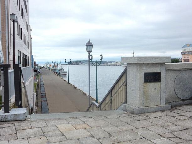 幣舞橋からの眺め