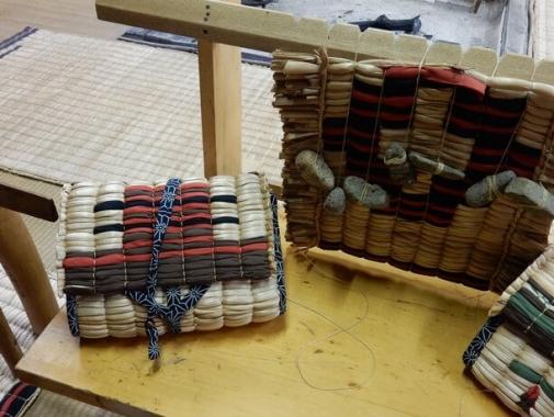 アイヌの伝統的な手工芸作品
