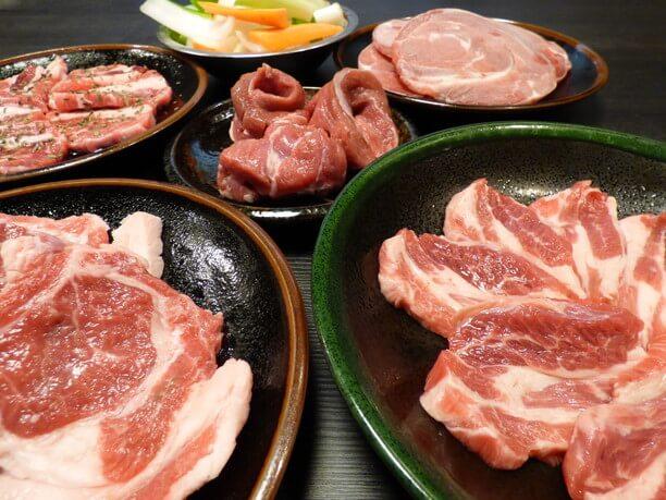 様々なお肉