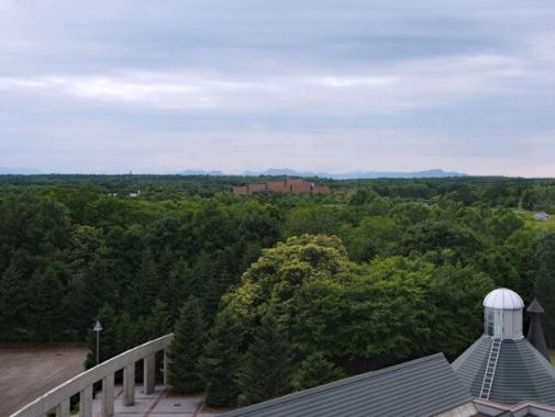 上からの景色