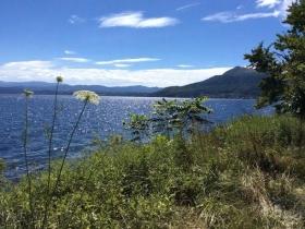 洞爺湖の美しい風景