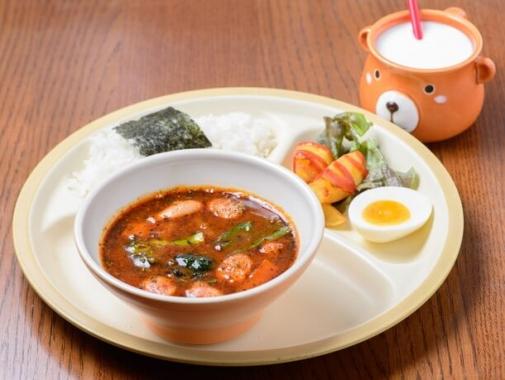 お子様ソーセージスープカレー(750円)