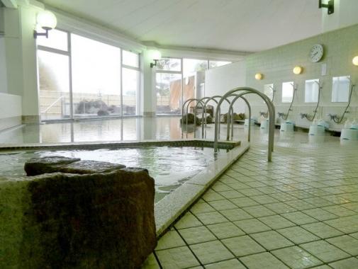 自慢の温泉