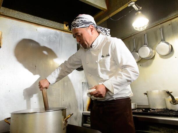 スープ作り