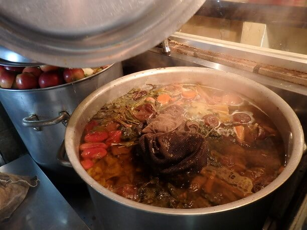 スープカレーのスープ