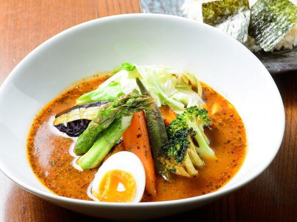 季節野菜スープカレー