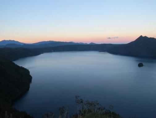 摩周湖第三展望台からの風景
