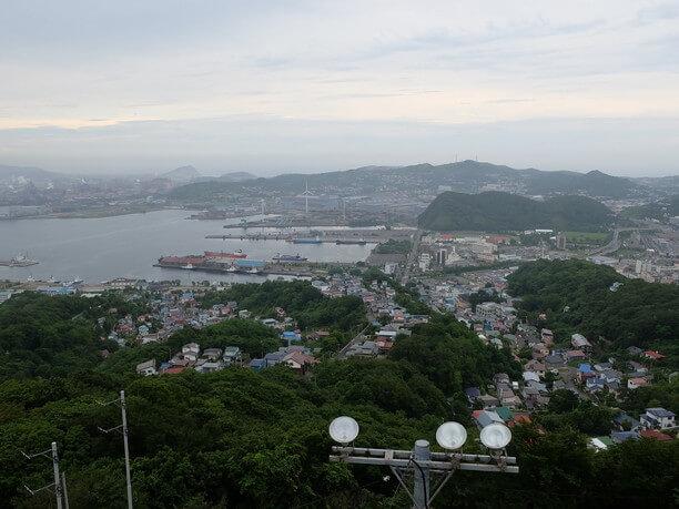 高台からの眺め