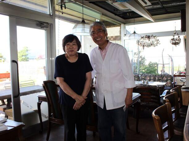 オーナーの関根勝治さんと久子さん夫妻