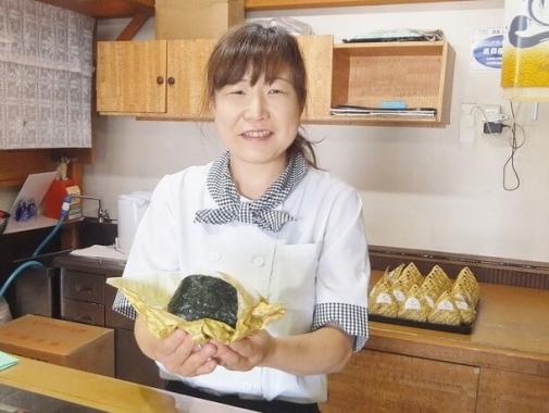 「海鮮ジャンボおにぎり(ミックス410円)」