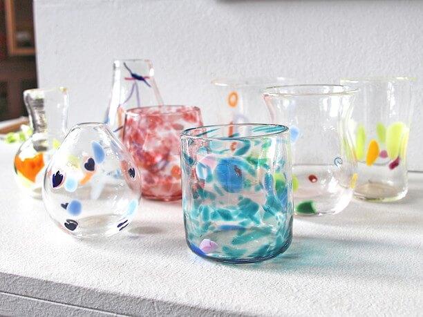 ガラス作品