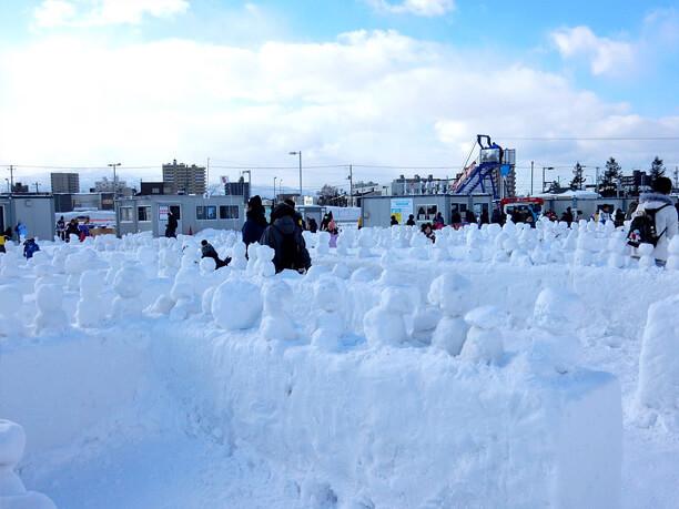 雪だるま迷路ワンダーランド
