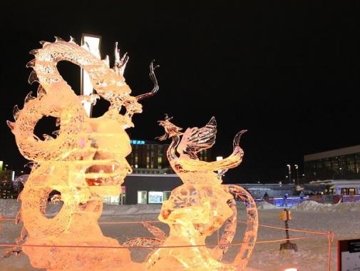 氷彫刻世界大会の作品