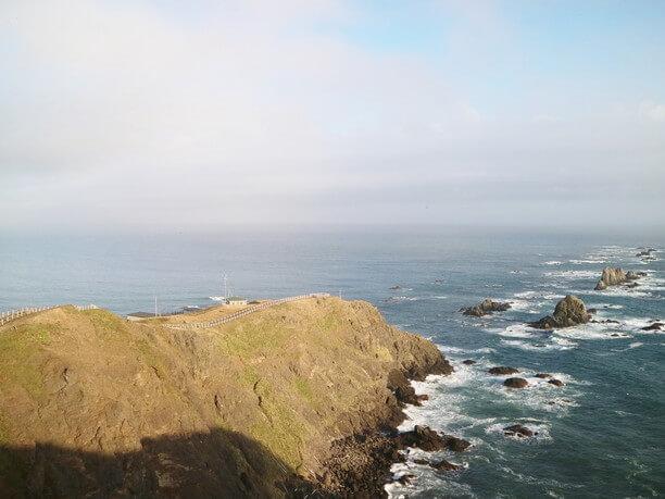 襟裳岬の景色