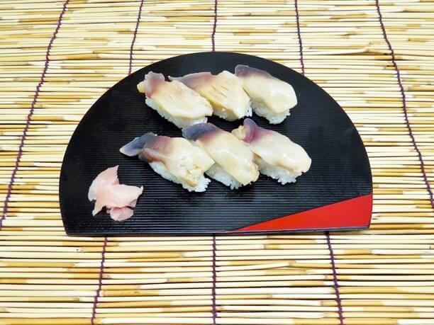 ほっき寿司(6貫1,000円)