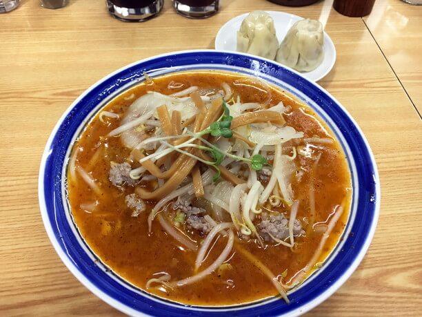 からい鉄火麺(850円)