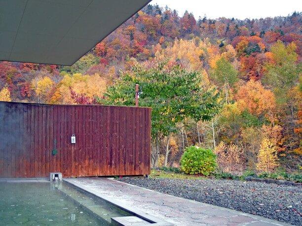 美しい自然と露天風呂