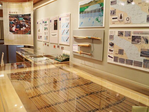 木製漁具の展示