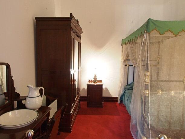 寝室の再現