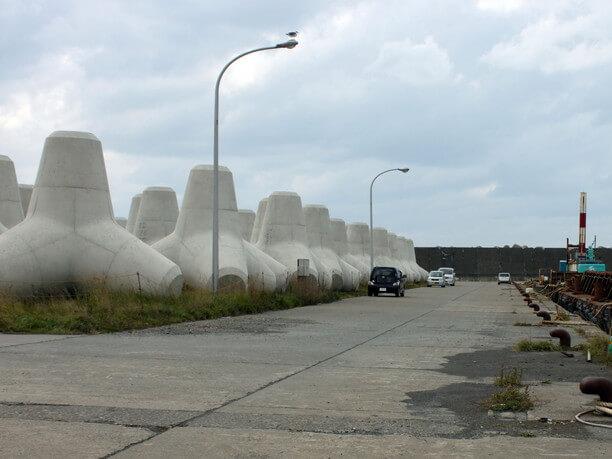 世界最大級の巨大テトラポット
