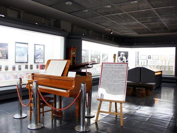 佐藤勝さんの特別展示室