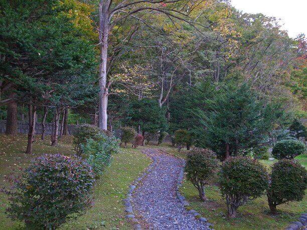 再現された日本庭園