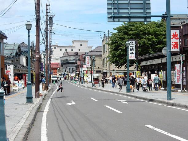 小樽屈指の観光名所メルヘン交差...