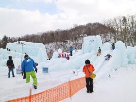 氷の滑り台
