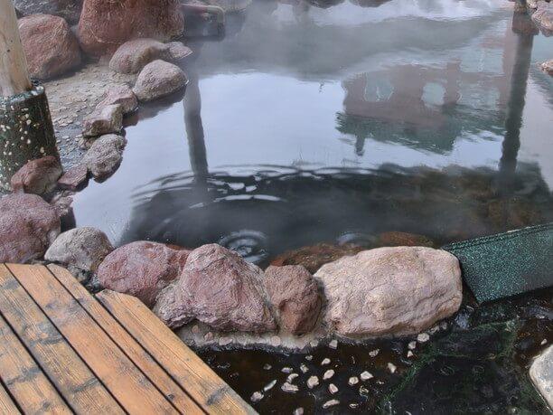 ホテル網走湖荘にある温泉