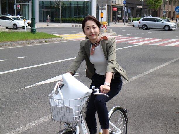 自転車で気軽い札幌散策