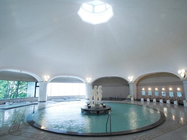 登別グランドホテルの大浴場