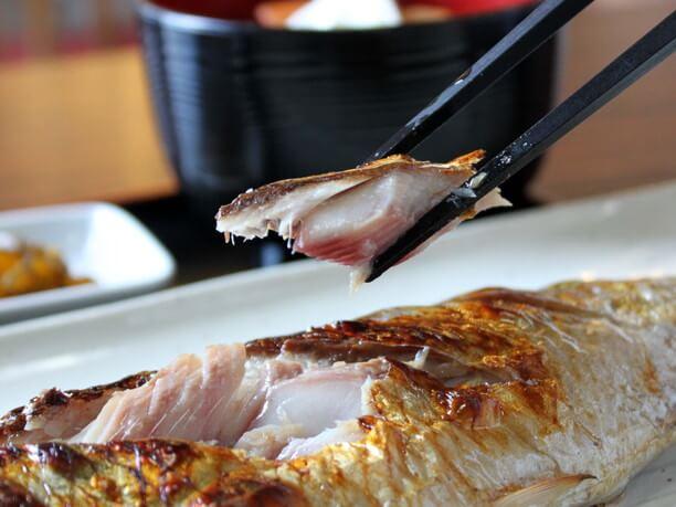 ふっくらした焼き魚