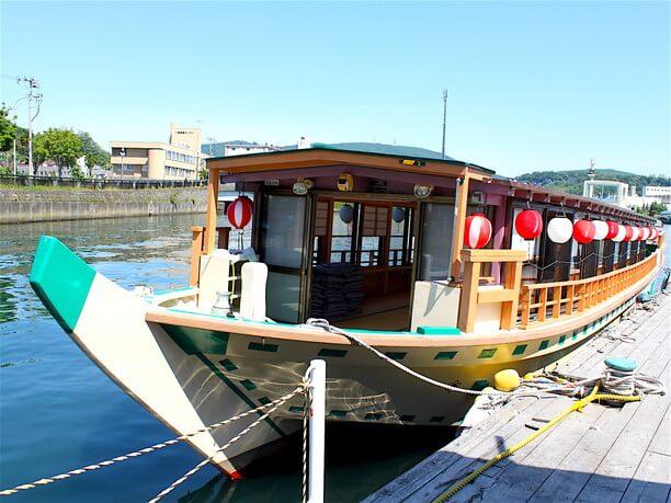 北海道で唯一の屋形船「かいよう」