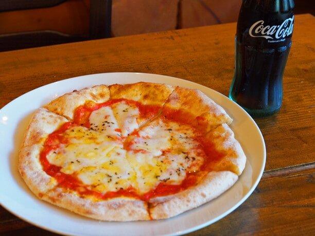 道の駅の名物ジオパークピザ