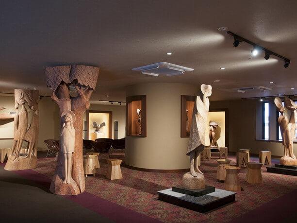 木彫り作品のギャラリー