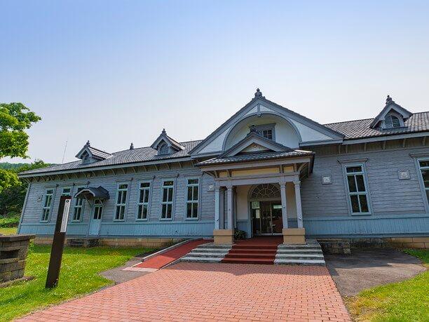 レトロな雰囲気の庁舎