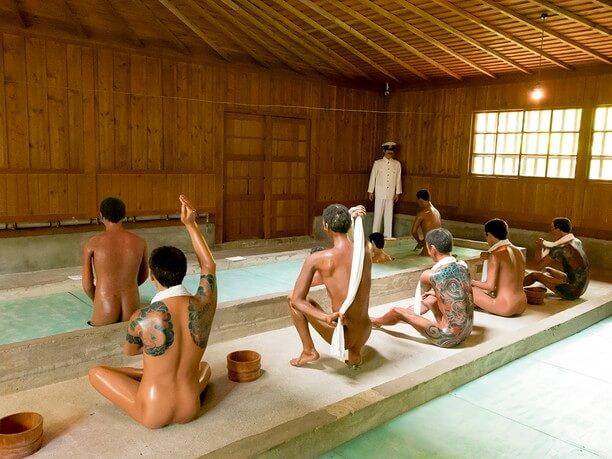 囚人の一番の楽しみ「浴場」