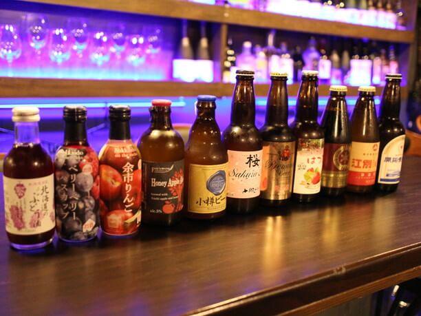 正統派からフルーツ系と豊富な種類のビール