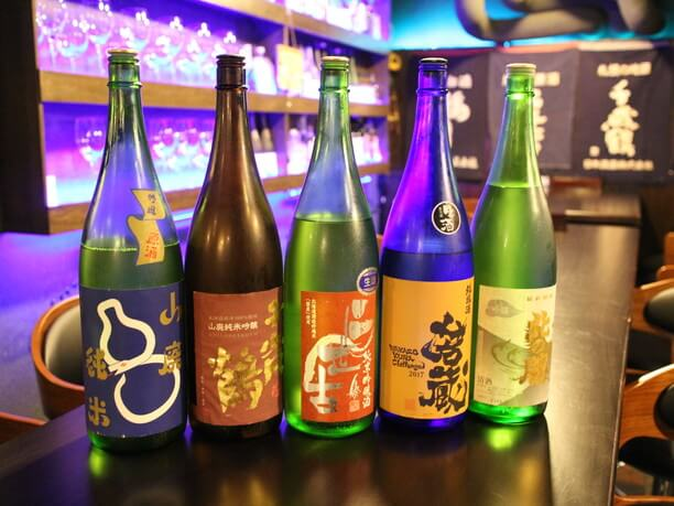 お気に入りの日本酒を「おかわり!」