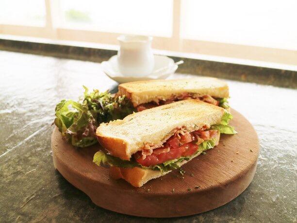 本日のサンドイッチプレート